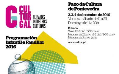 Actividades de interese no Culturgal, en Pontevedra, esta fin de semana