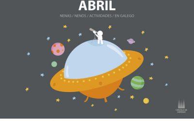 Obradoiros, contos, música e teatro en abril