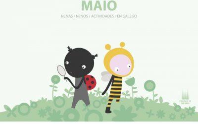 Programación de maio en Compostela