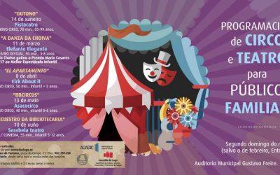 Circo e teatro para o público familiar en Lugo