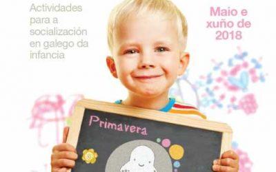 Maio e xuño de animación, formación e socialización en galego con Apego en Carballo