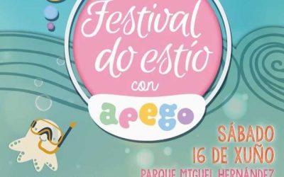 Festival do Estío con Apego. O sábado 16 de xuño, en Vilagarcía de Arousa