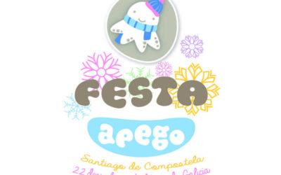 Festa Apego no nadal de Compostela