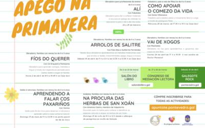 Pontevedra acolle unha nova programación do Apego na primavera